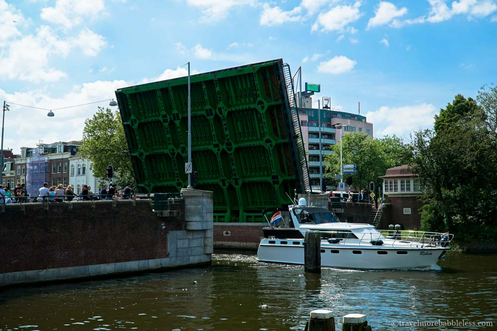 Klappbrücke in Amsterdam