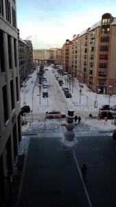 Mall of Berlin im Winter