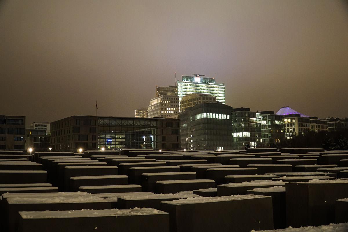 Denkmal für die ermordeten Juden Europas/Holocaust Memorial