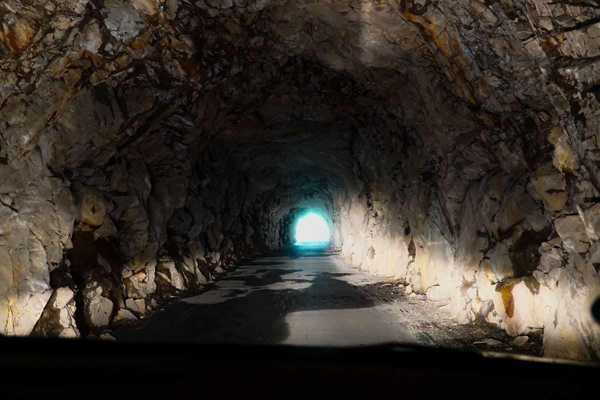 Tunnel nach Cicogna im Val Grande