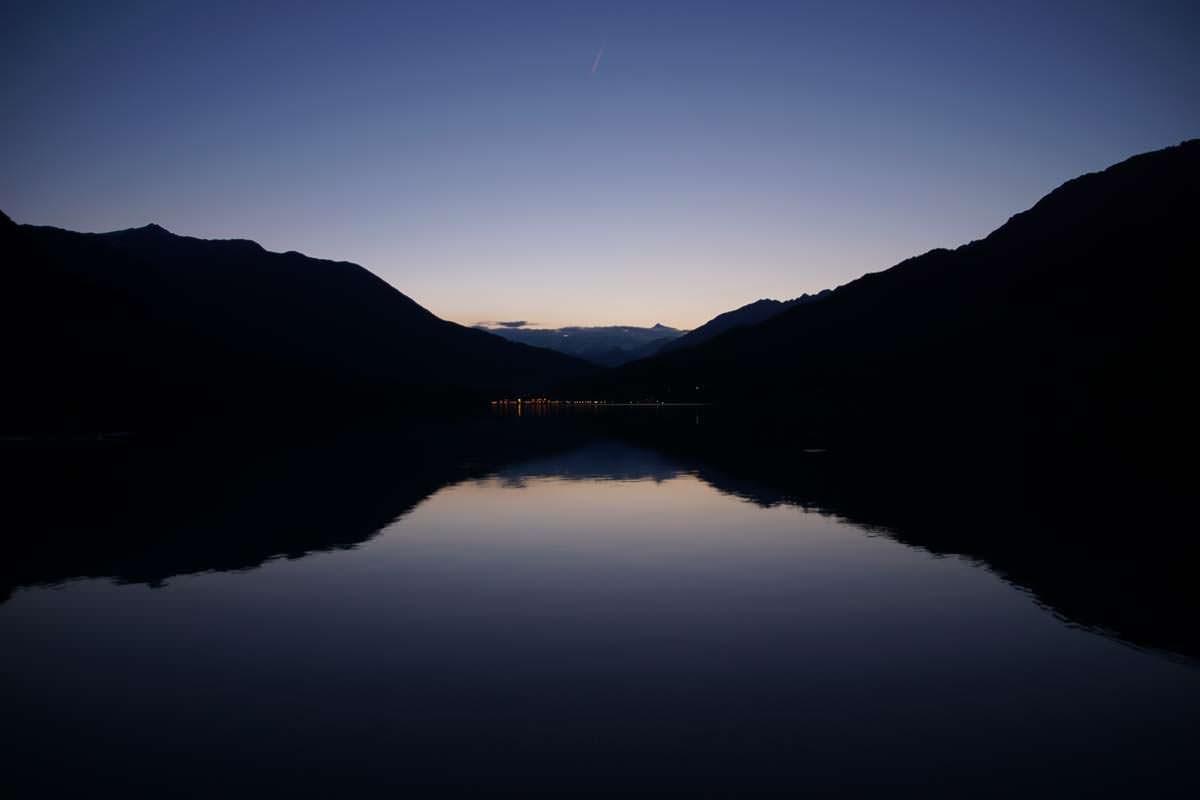 Lago di Mergozzo bei Nacht