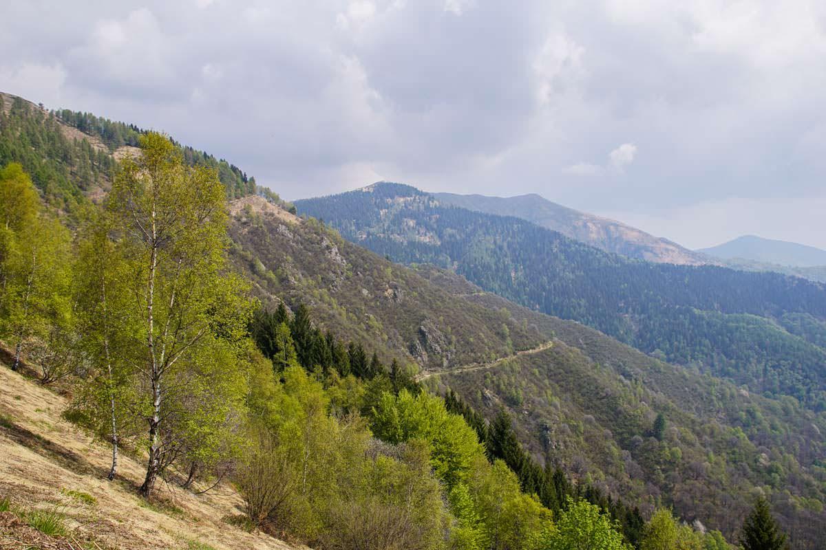 Aufstieg zum Monte Todano