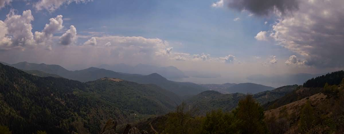 Panoramablick oberhalb der Capella Porta