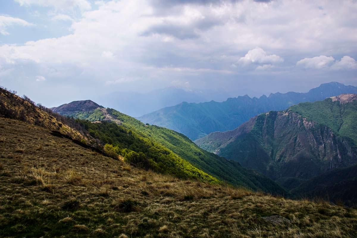 Ausblick vom Monte Todano im Val Grande