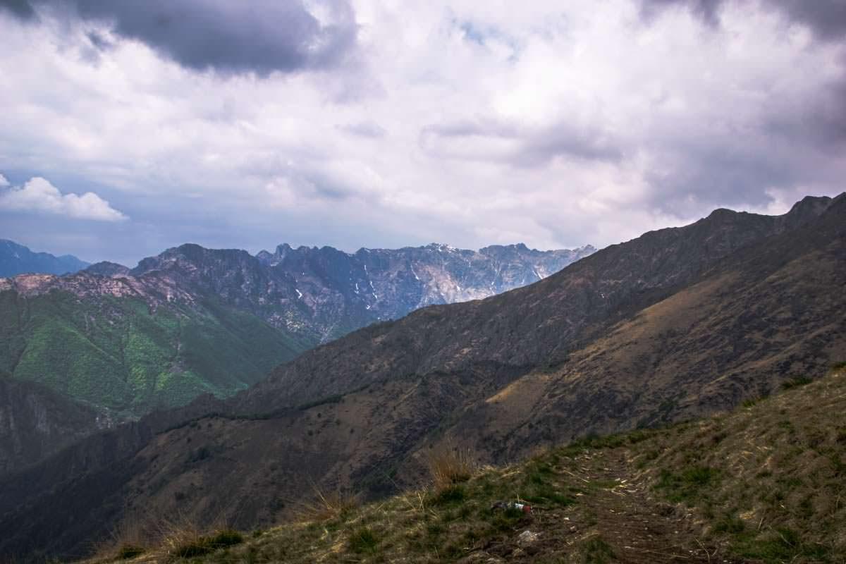 Blick vom Pian Cavallone im Val Grande