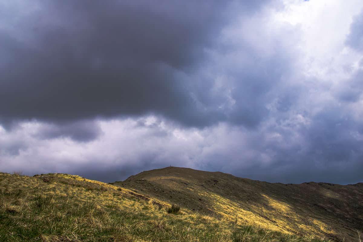 Der Gipfel vom Monte Todano im Val Grande