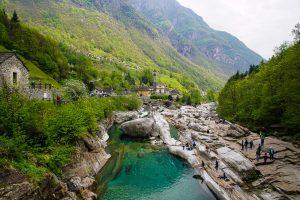 Lavertezzo im Val Verzasca
