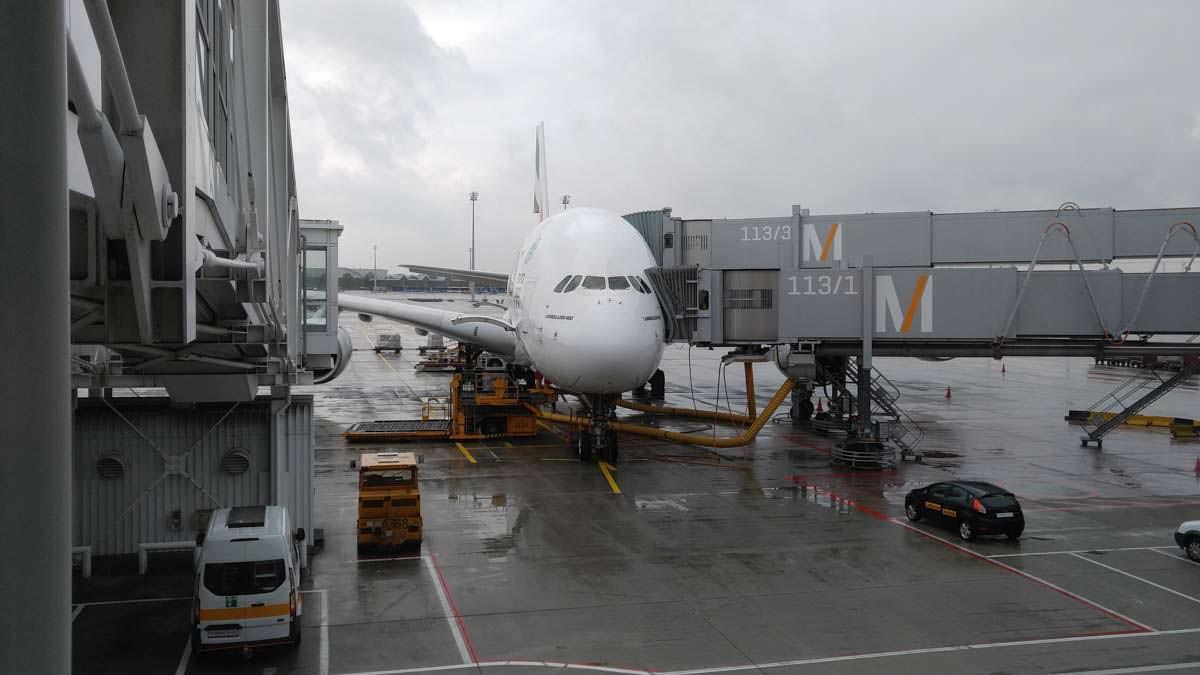 A380 von Emirates