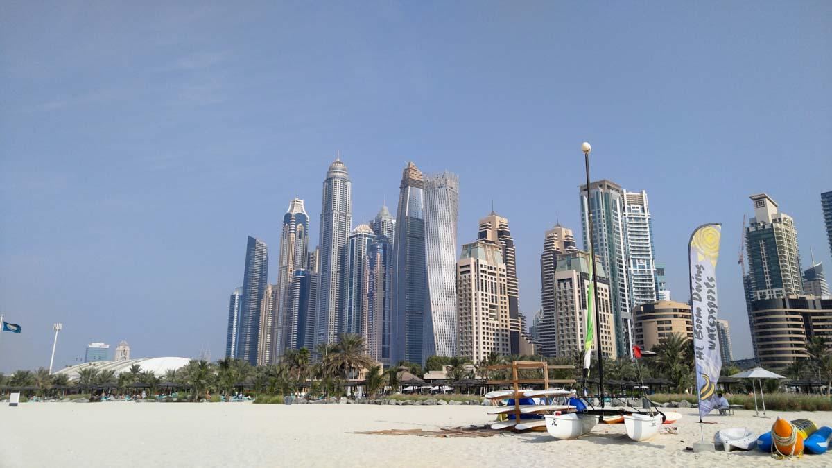 JBR Beach Dubai/Jumeirah Beach Strand von Dubai