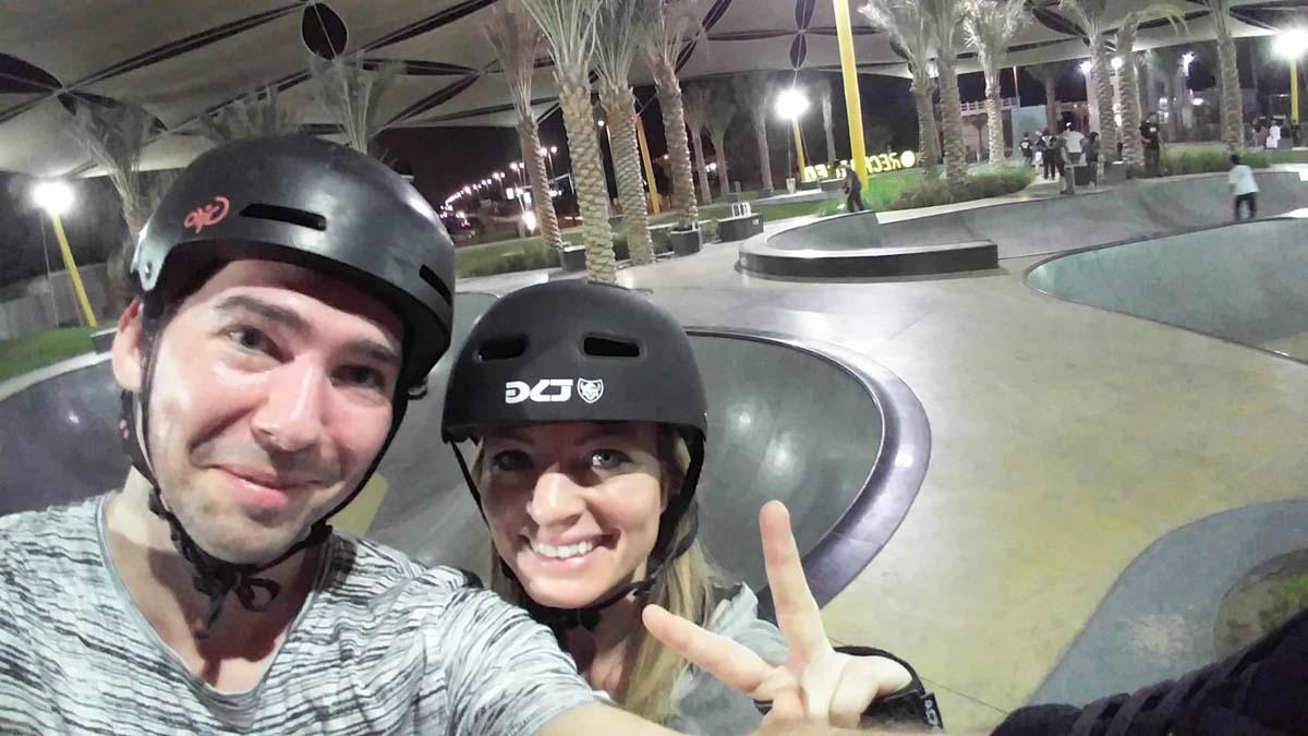 Skatepark in Dubai-XDubai