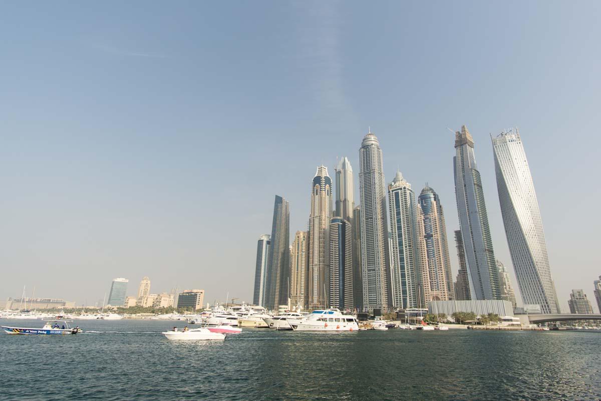 Marina Towers/Hafen von Dubai