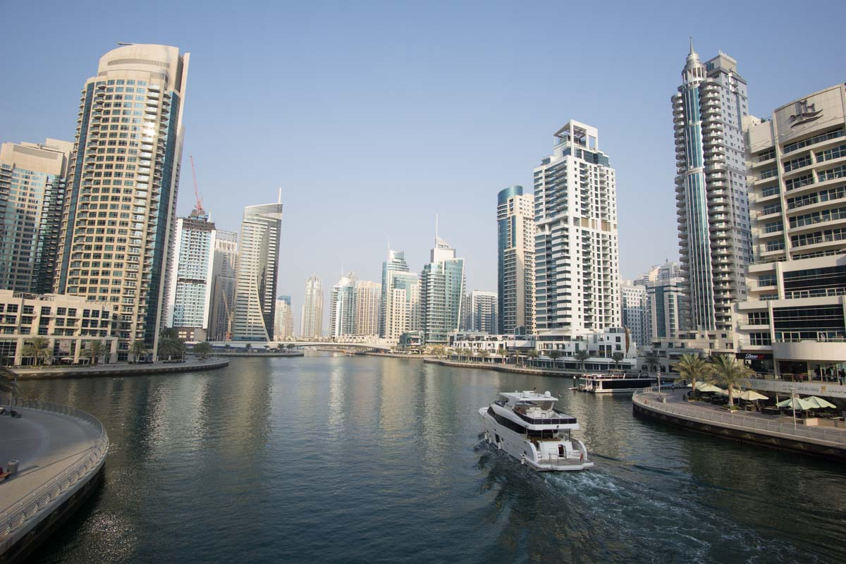 Dubai Marina/Hafen von Dubai