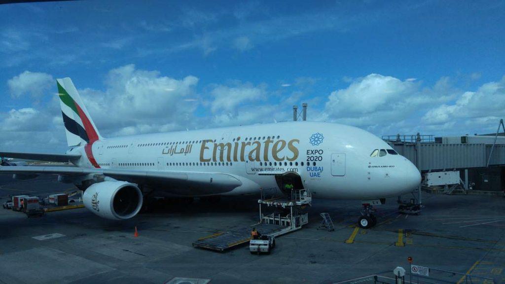 A380 von Air Emirates