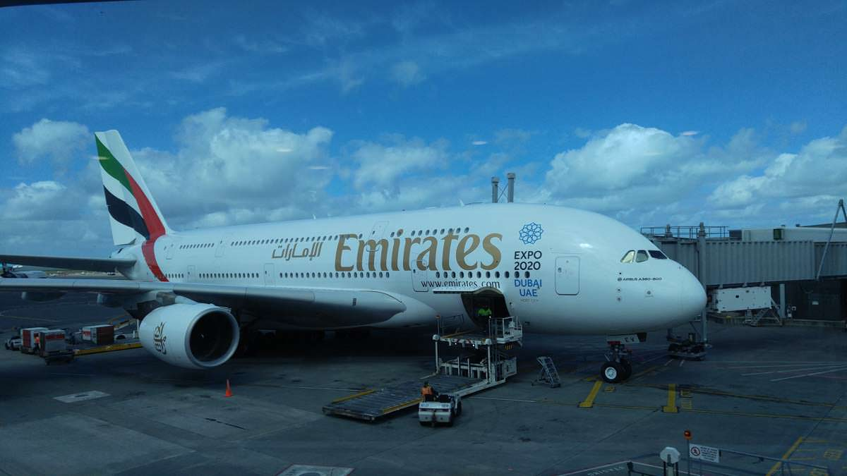 A380 von Air Emirates