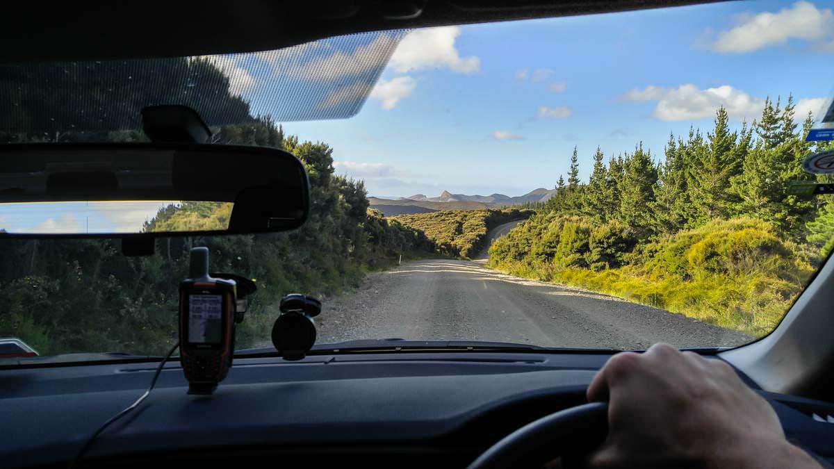 Autofahrt durch Northland in Neuseeland