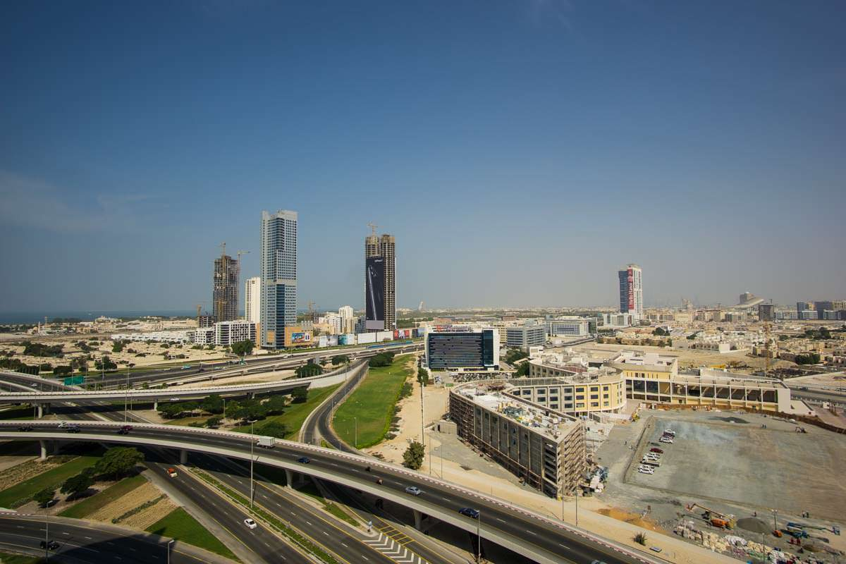 Ausblick vom Atana Hotel in Dubai