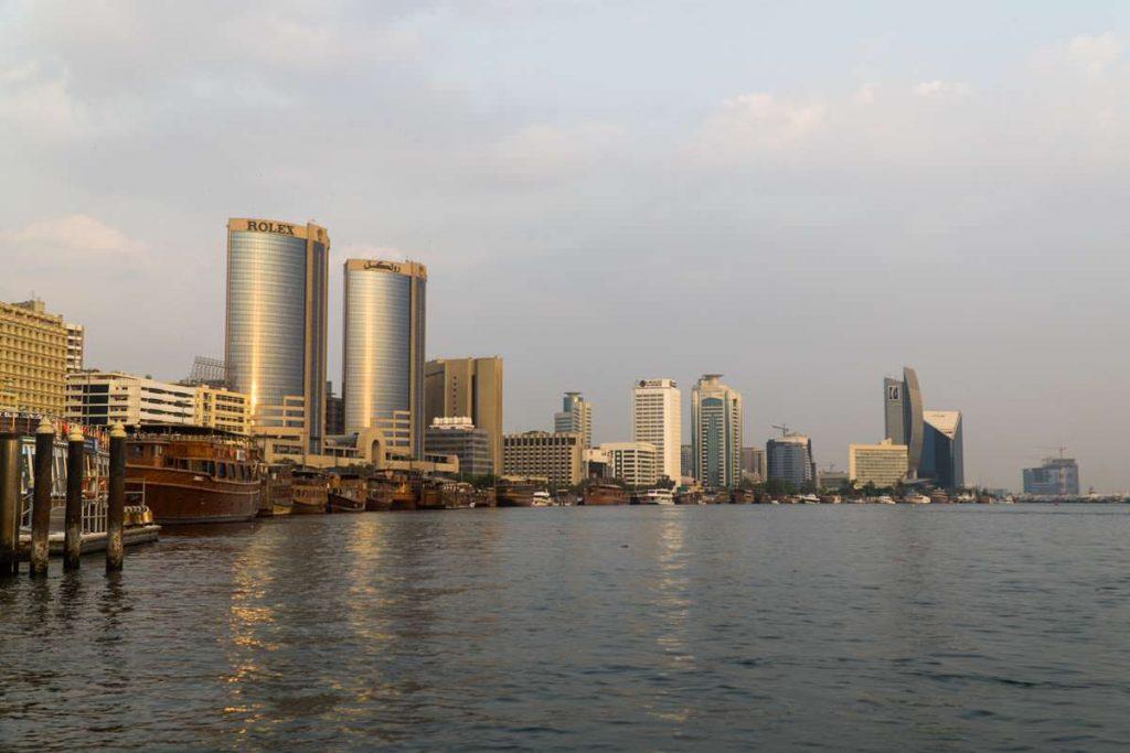 Hafen von Dubai Creek
