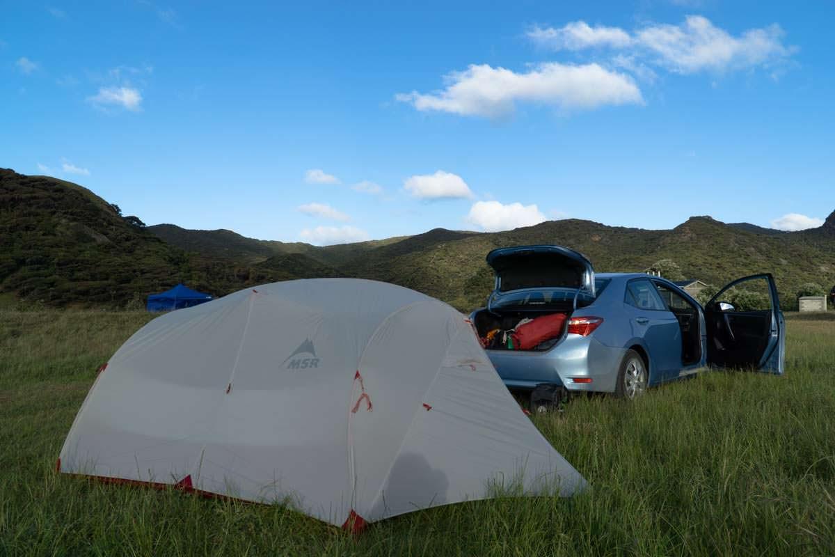 Spirits Bay Campsite in Northland, Neuseeland