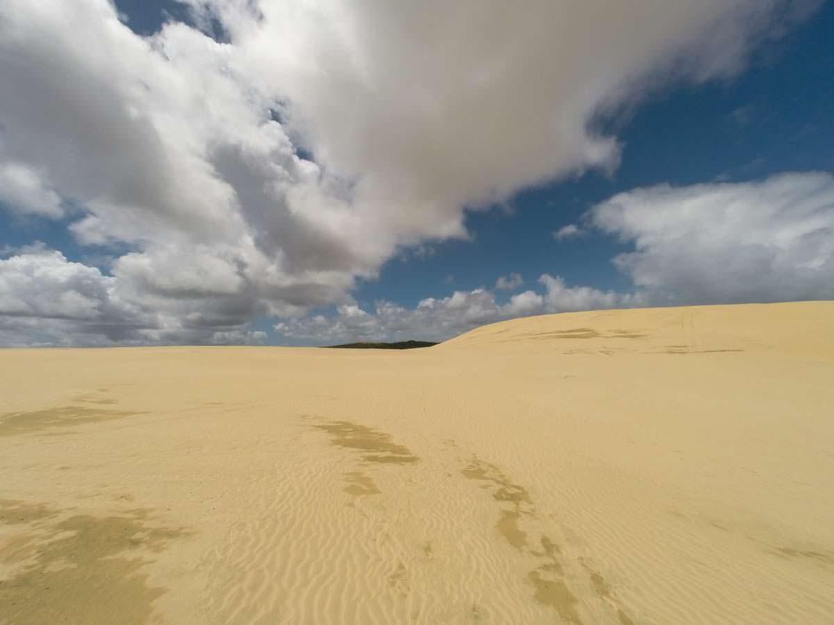 Te Paki Great Sand Dunes (Sanddünen) in Neuseeland