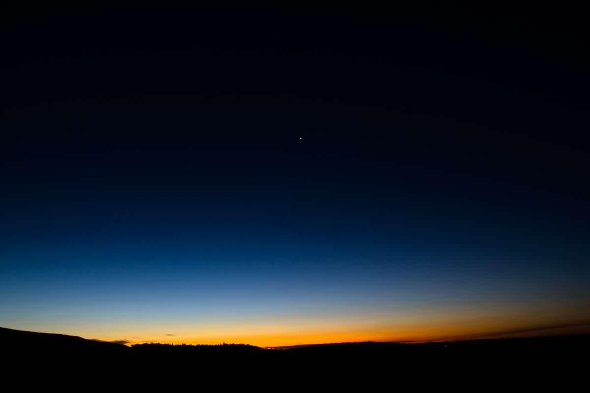 Sonnenuntergang im Tongariro Nationalpark in Neuseeland