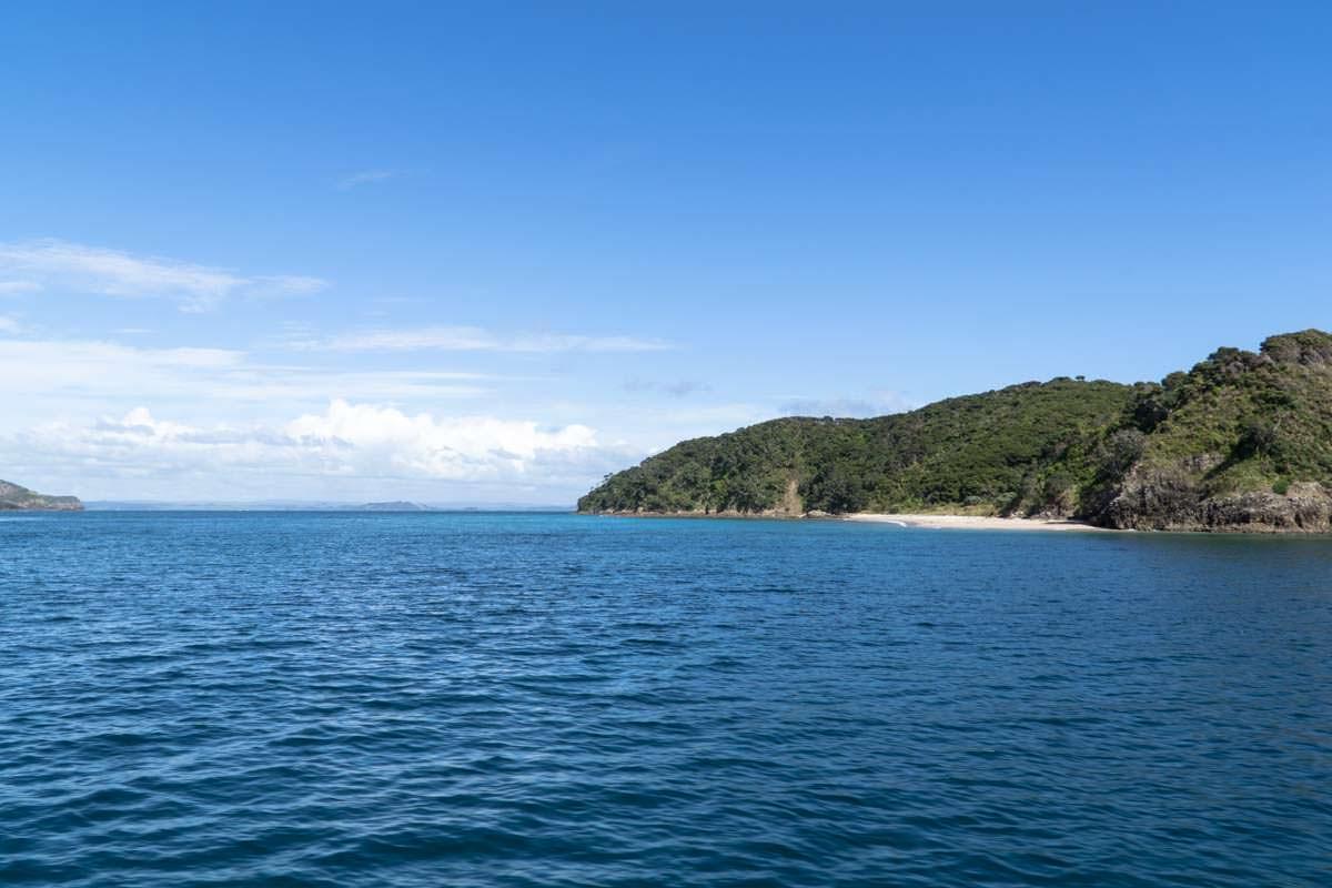 Inseln in der Bay of Islands in Neuseeland