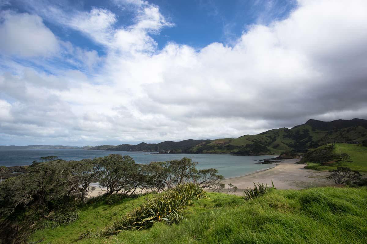 Elliot Bay (Bay of Islands) in Neuseeland