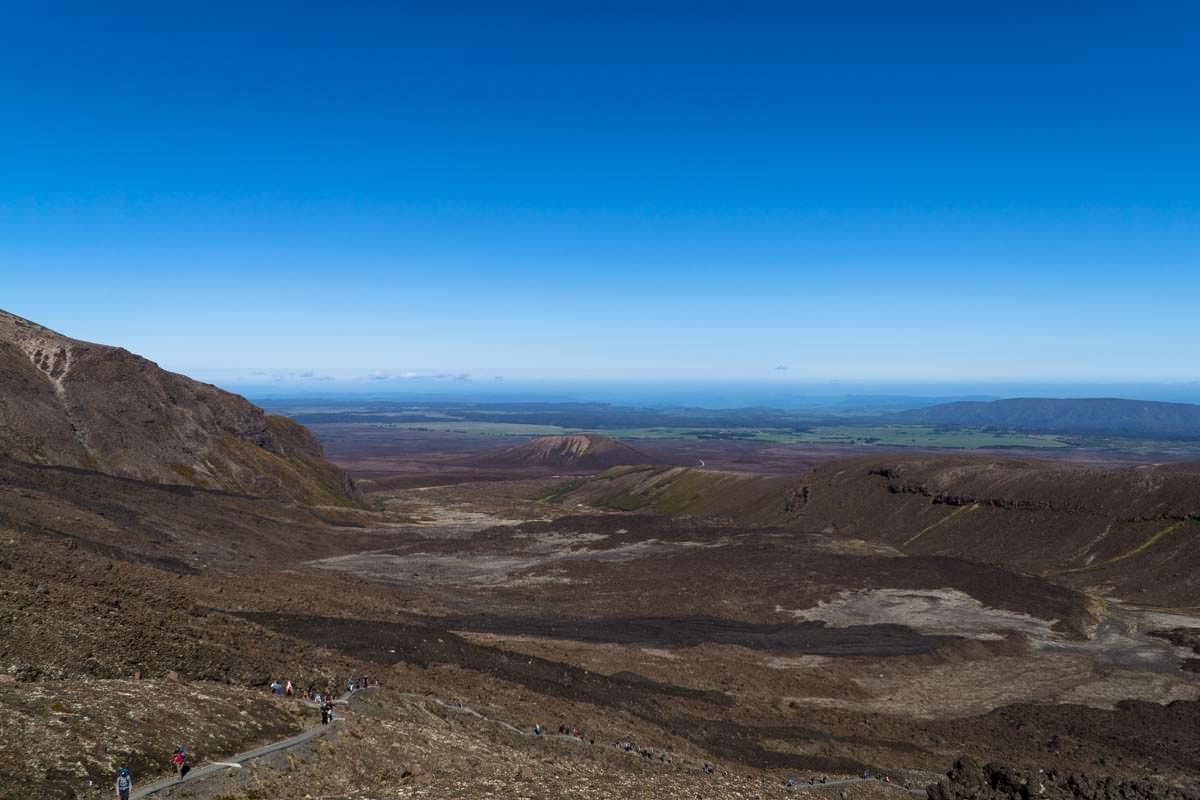 Mangatepopo Valley im Tongariro Nationalpark in Neuseeland