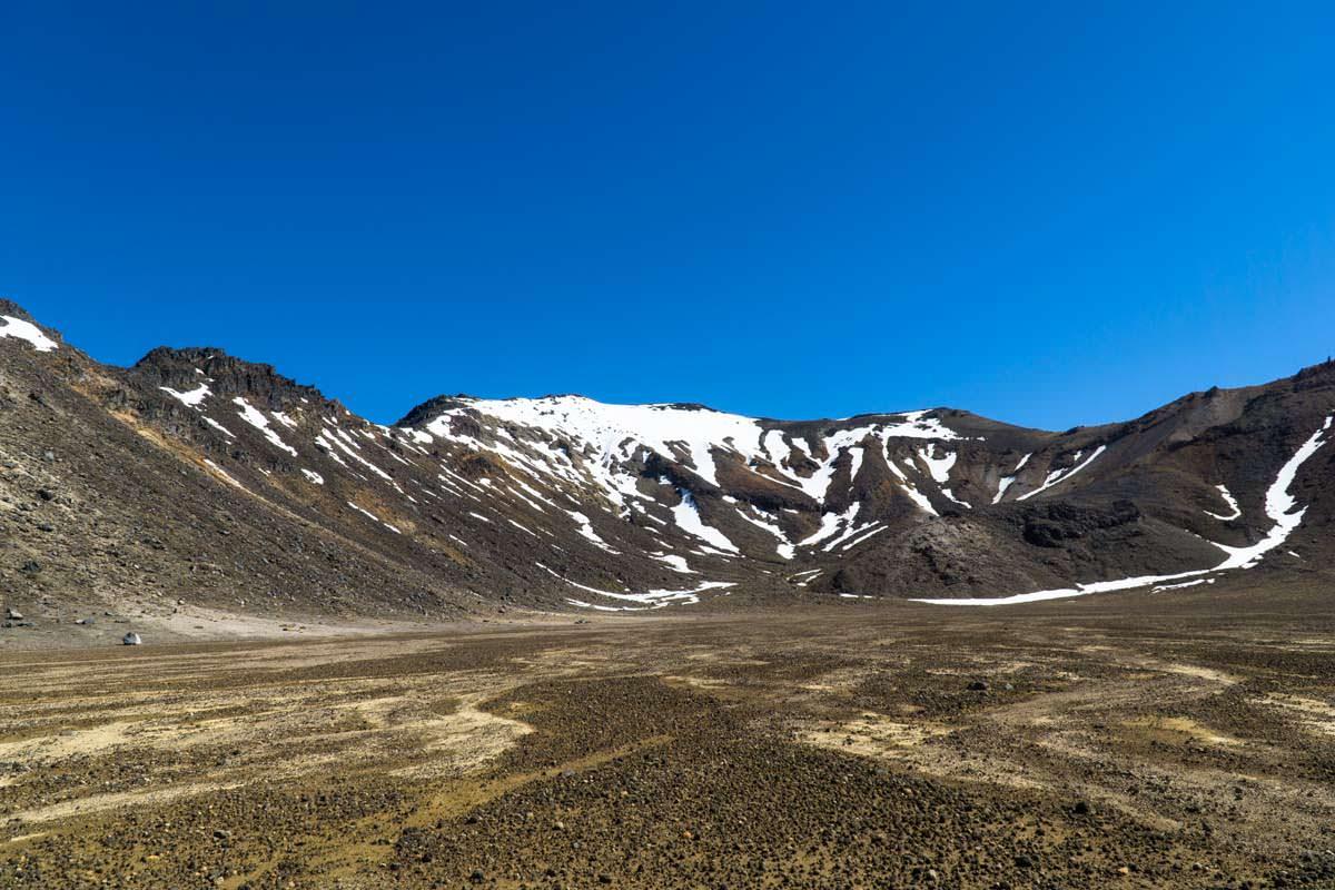 Tongariro Alpine Crossing in Neuseeland