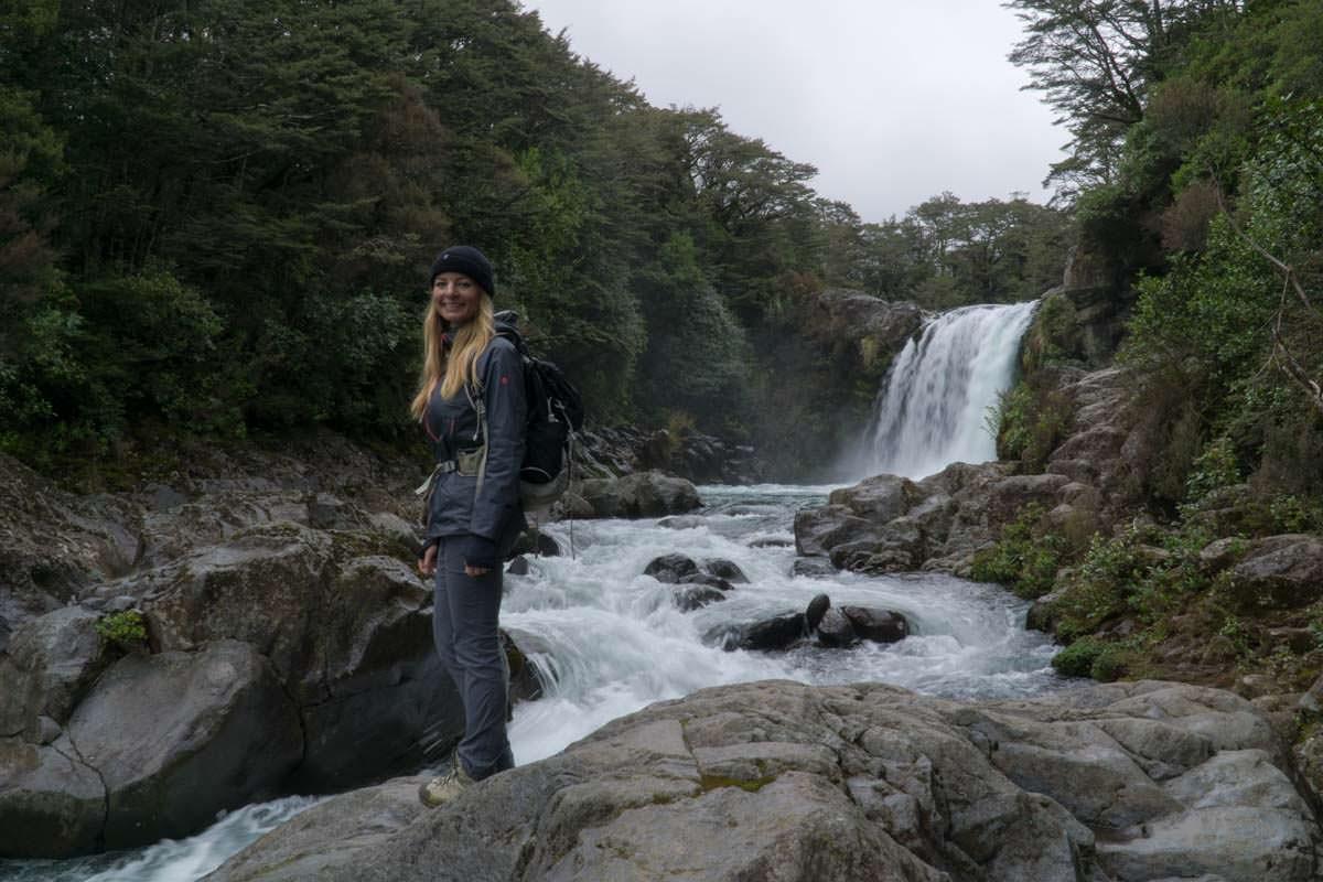 Tawhai Falls im Tongariro Nationalpark in Neuseeland