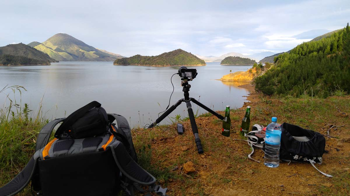 Timelapse am Archer Track in Neuseeland
