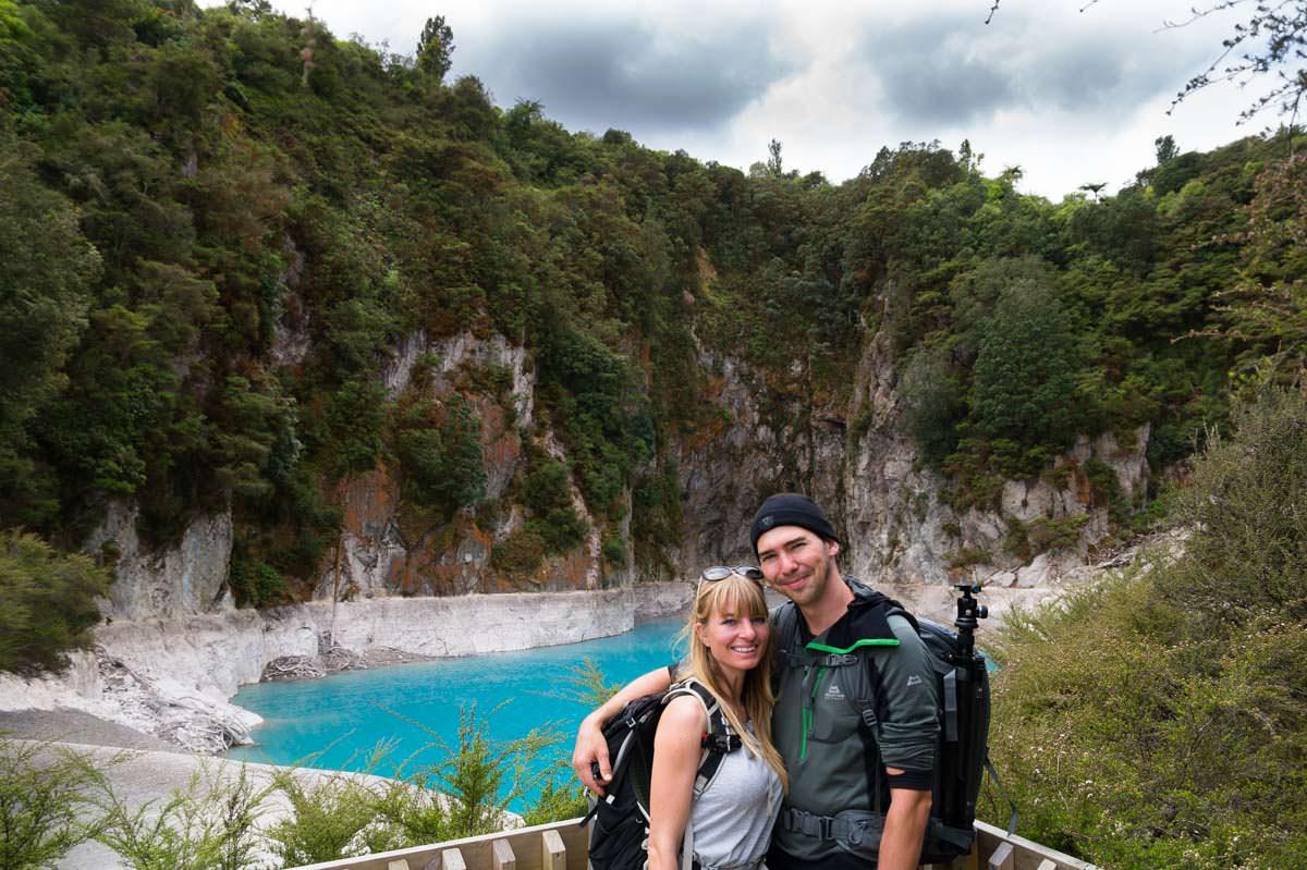 Inferno Crater im Waimangu Volcanic Valley in Neuseeland