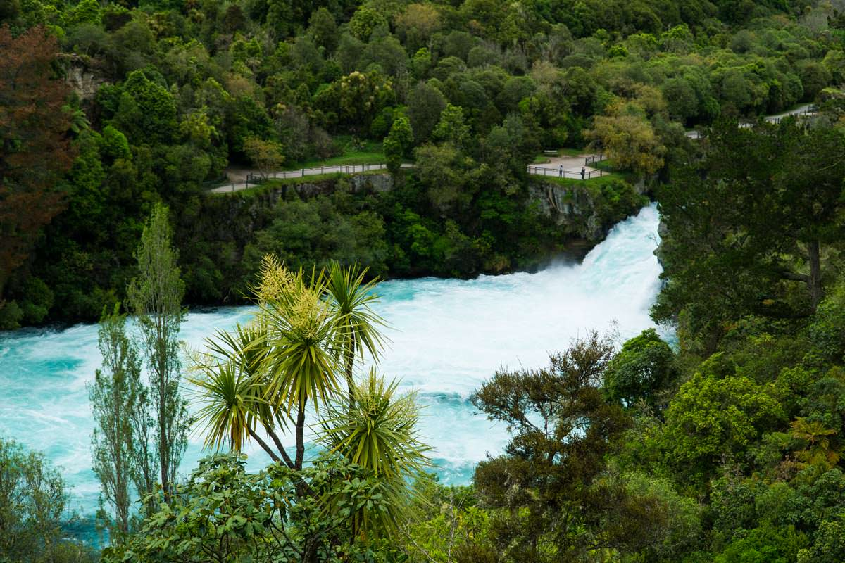 Huka Falls in Neuseeland