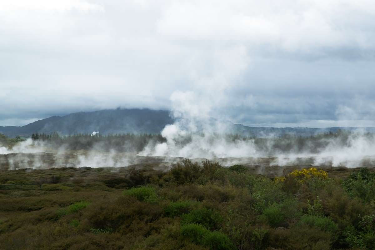 Craters of the Moon in Neuseeland