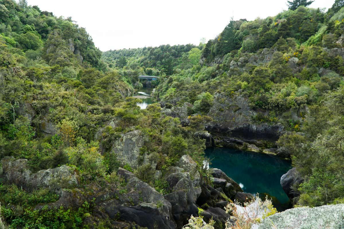 Aratiatia Rapids in Neuseeland