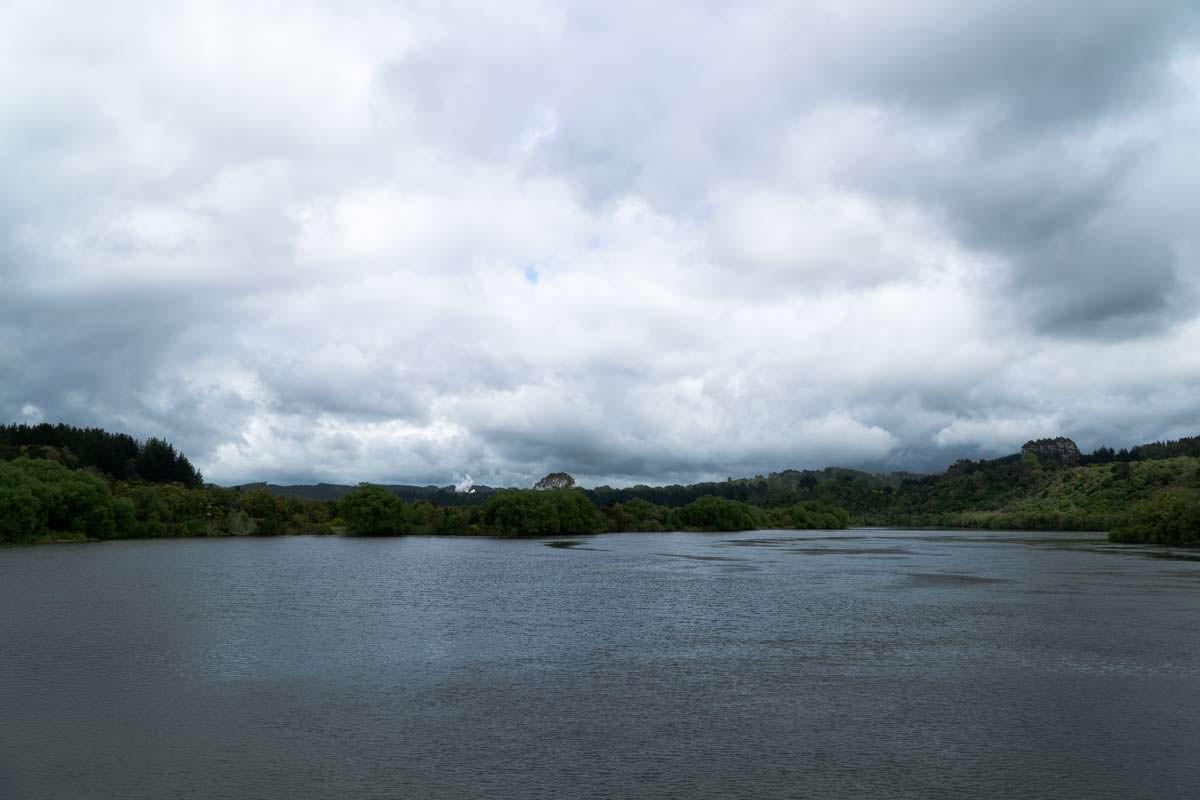Stausee der Aratiatia Rapids in Neuseeland