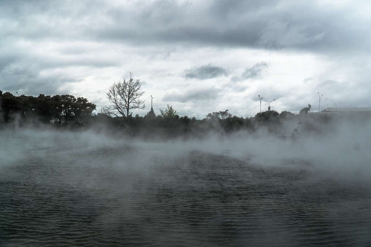 Kuirau Park in Rotorua, Neuseeland