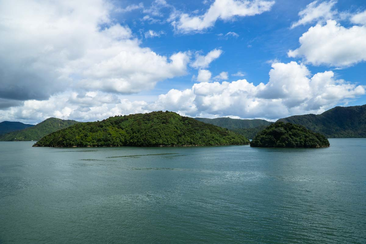 Cook Strait in Neuseeland