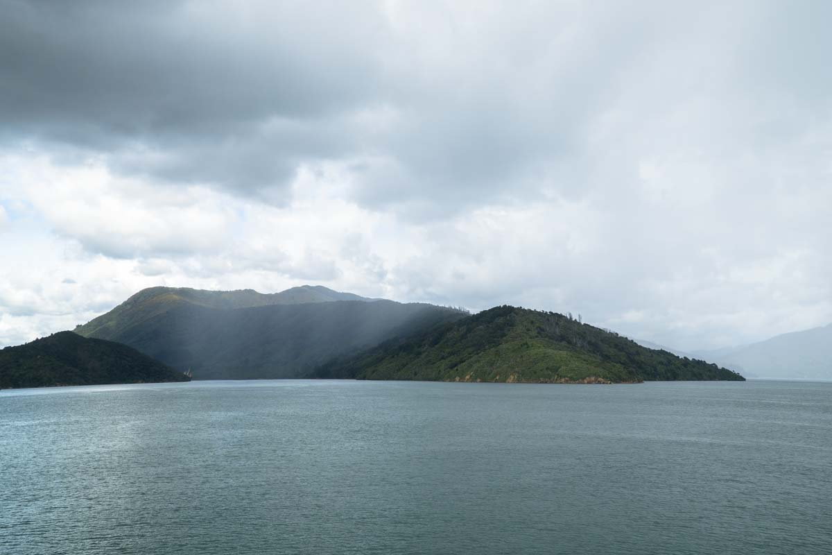 Cook Strait in Neuseeland