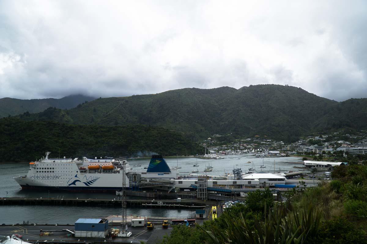 Hafen von Picton, Neuseeland