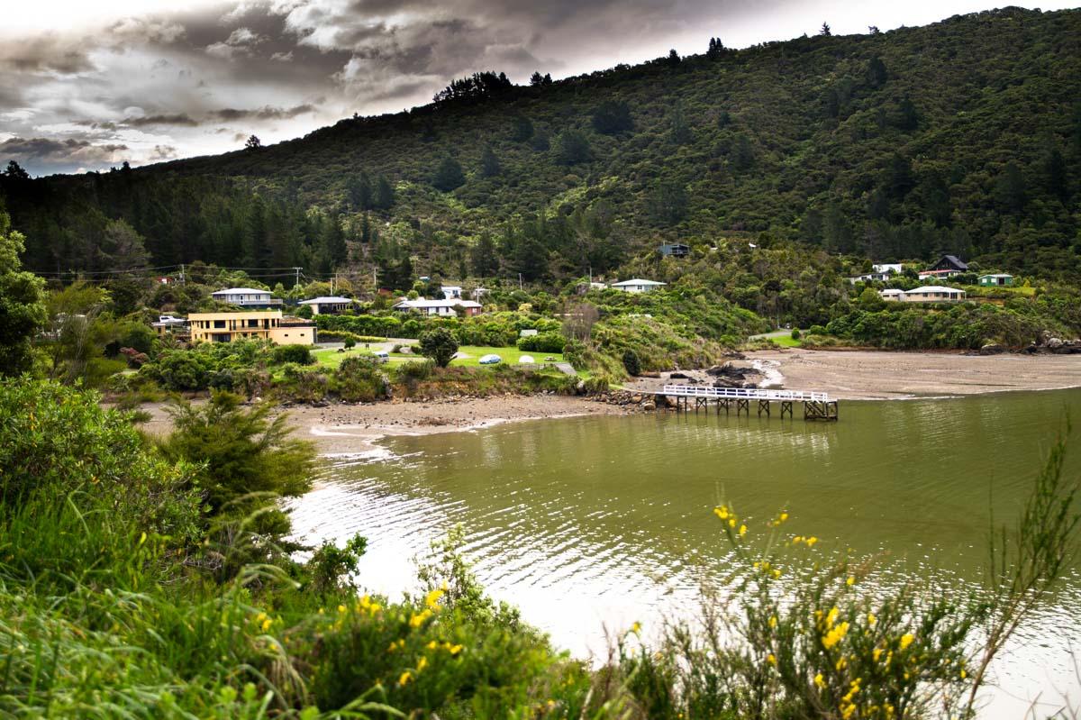 Elaine Bay (Pelorus) in Neuseeland