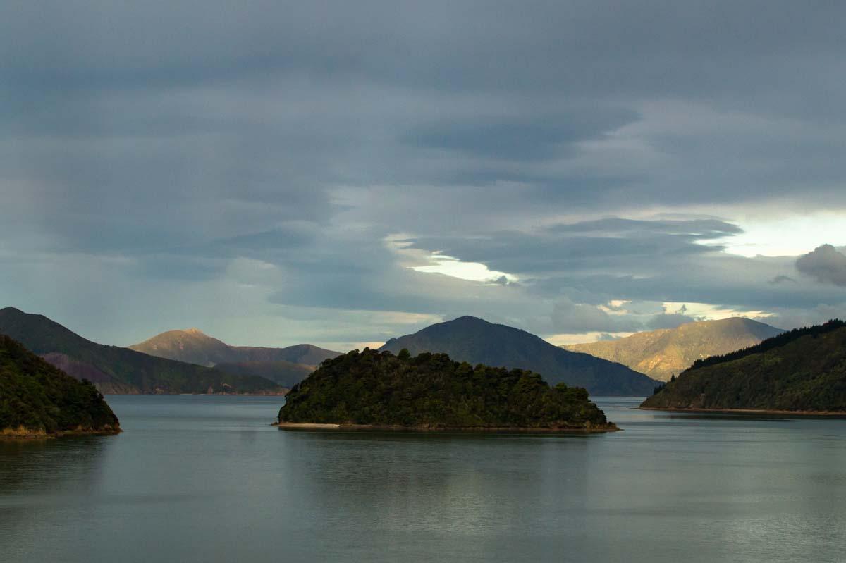Pelorus Sound in Neuseeland
