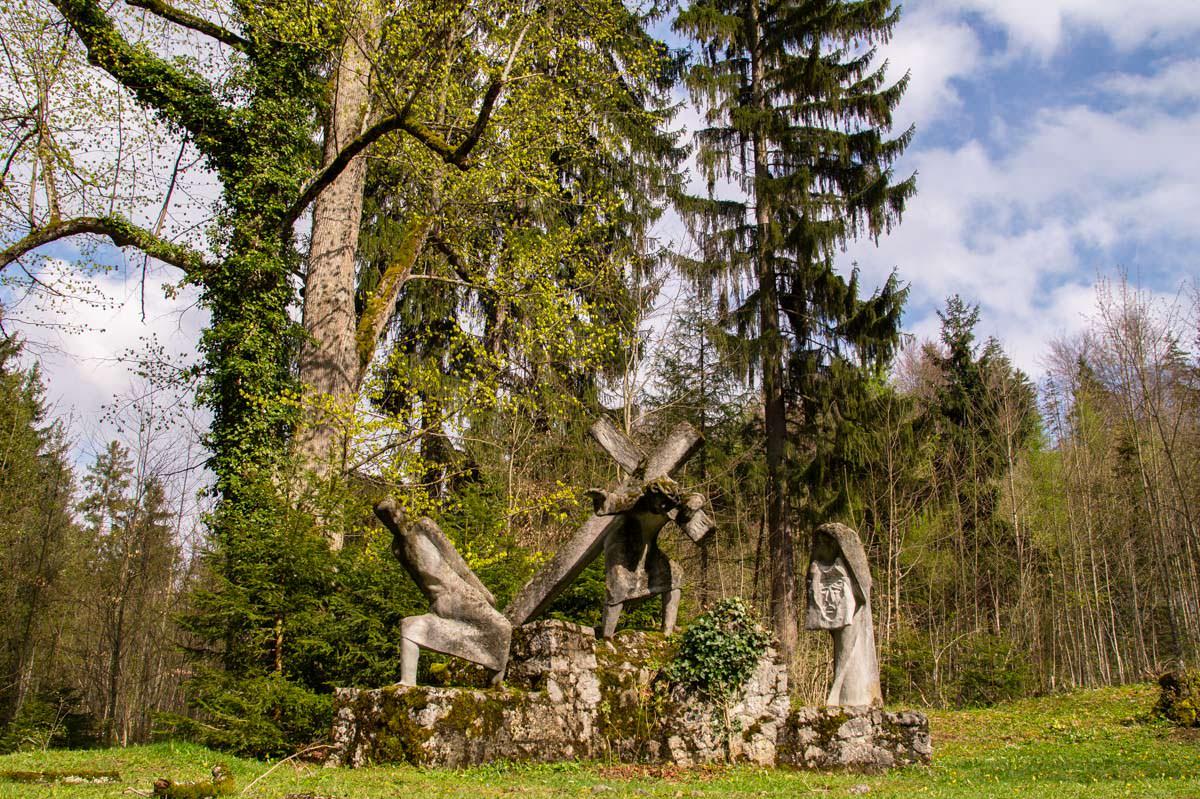 Passion Christi auf dem Kalvarienberg in Füssen