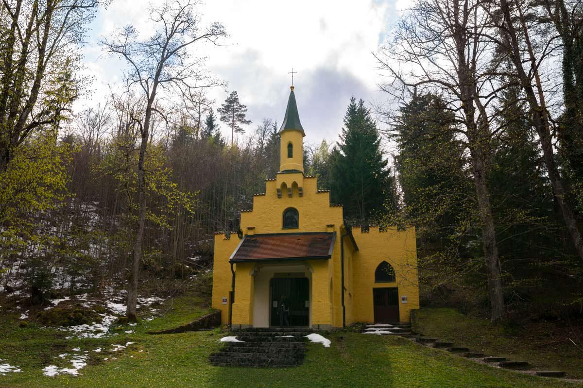 Marienkapelle auf dem Kalvarienberg in Füssen