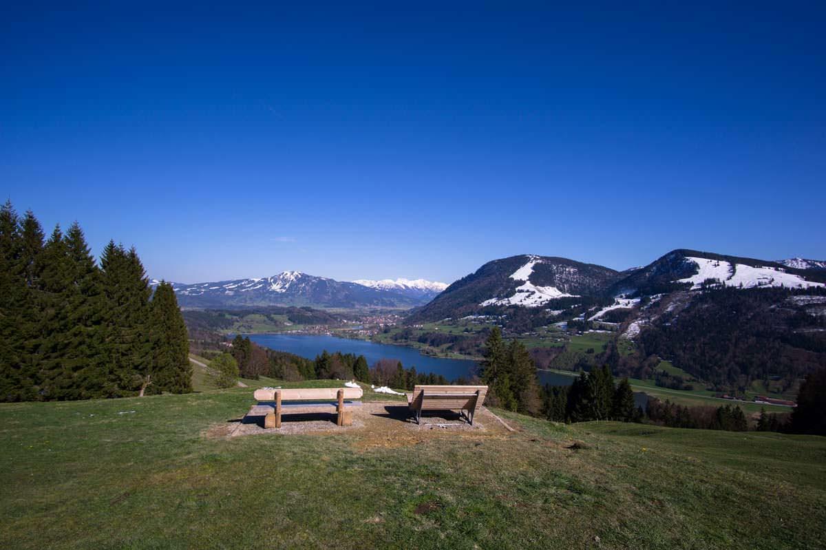 Aussichtspunkt Seeblick am Alpsee