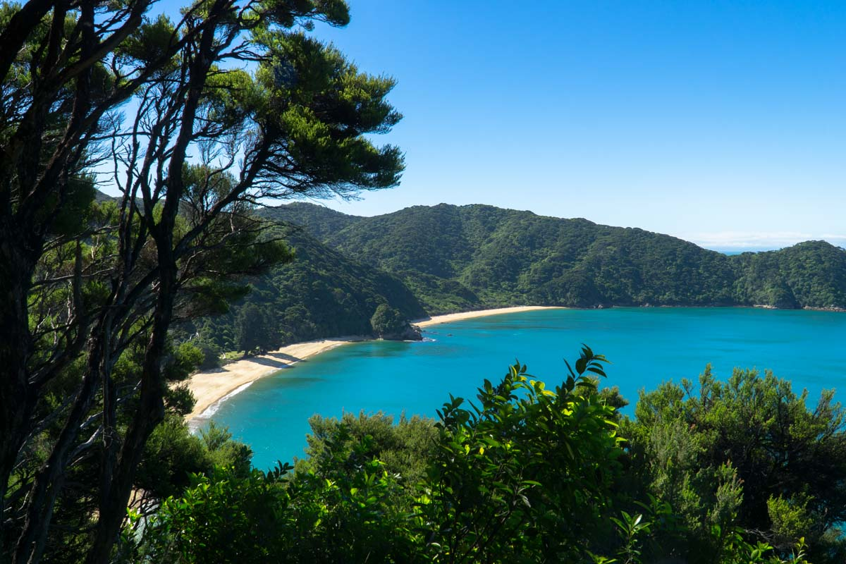 Mutton Cove im Abel Tasman Nationalpark in Neuseeland