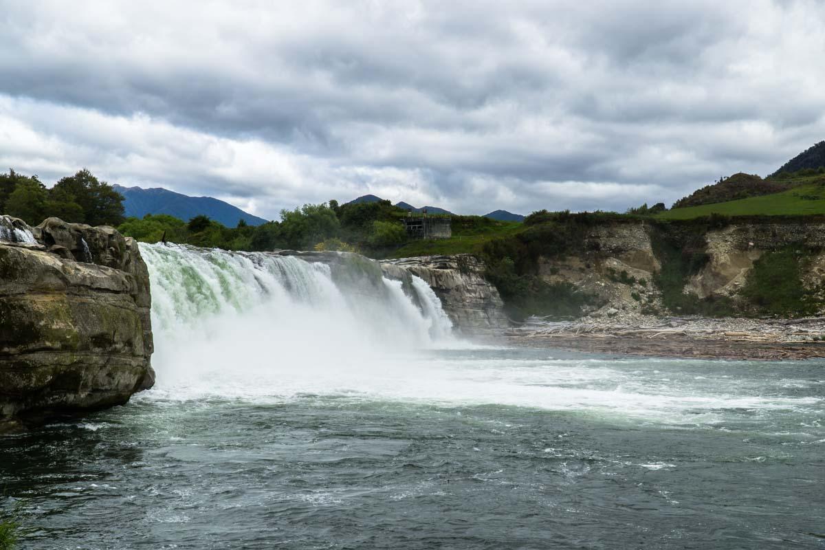 Maruia Falls in Neuseeland