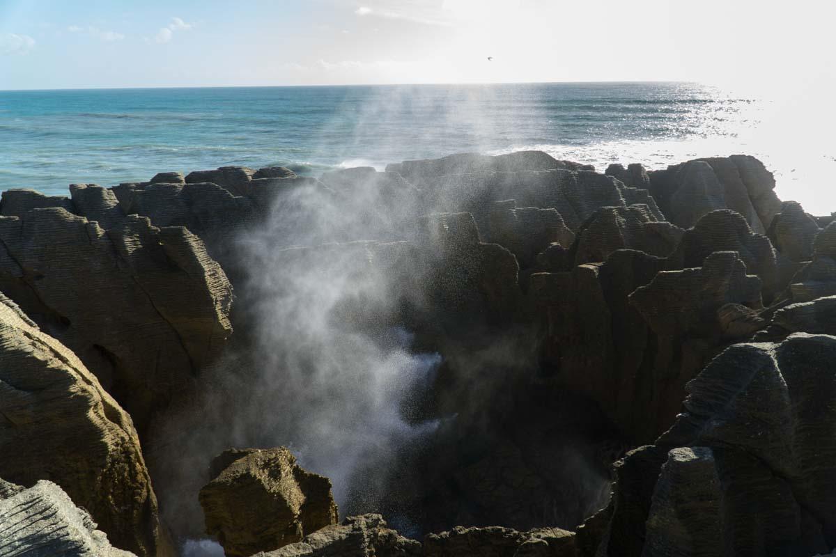 Pancake Rocks (Dolomite Point) in Neuseeland