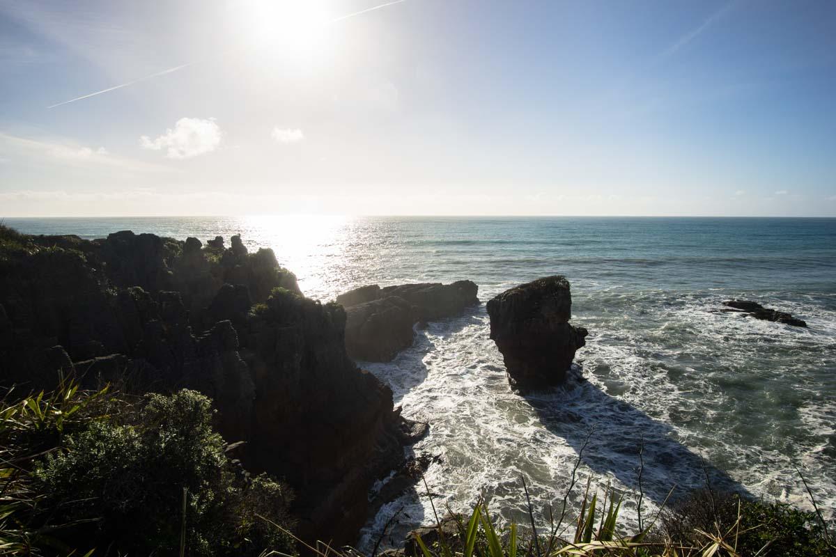 Punakaiki Pancake Rocks in Neuseeland