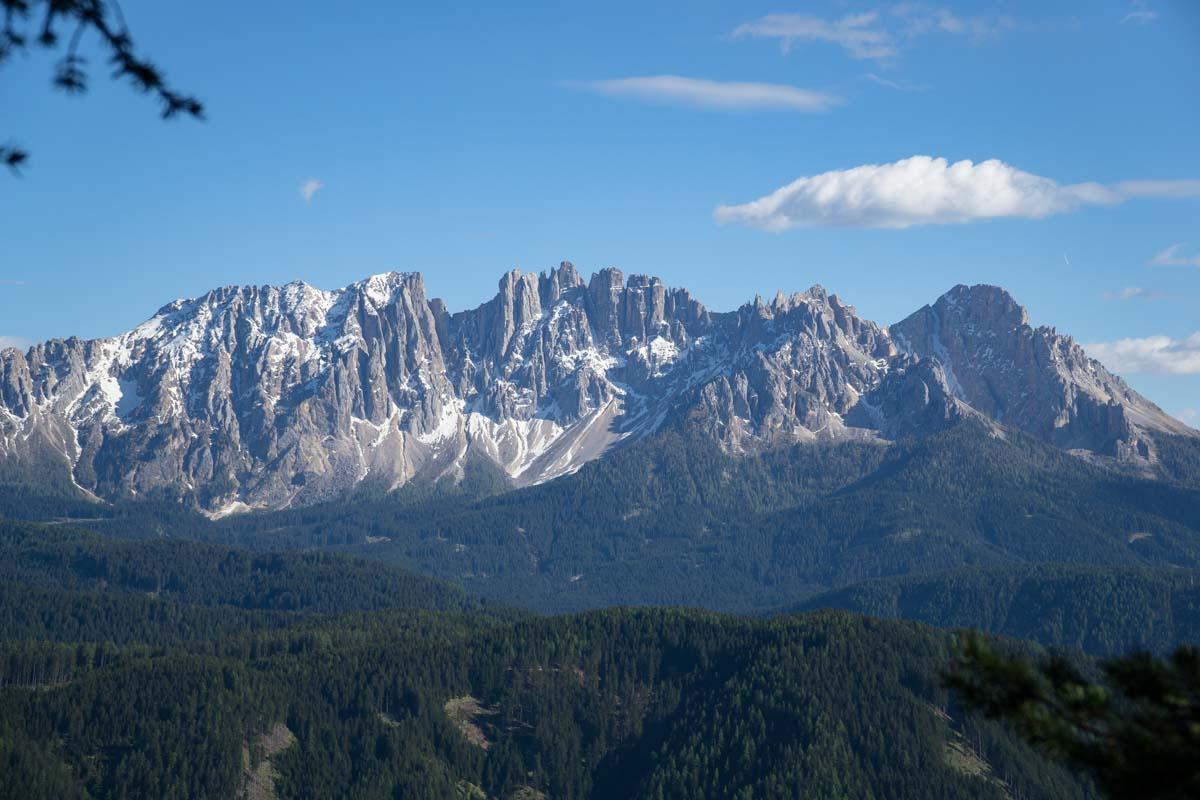Der Rosengarten in den Dolomiten