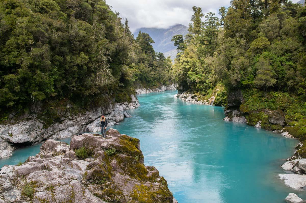 Hokitika Gorge in Neuseeland